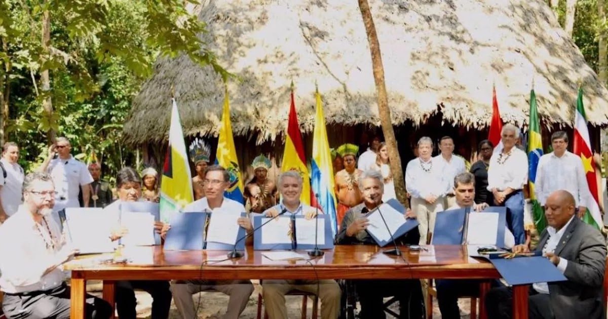 7 Latin American Countries Sign Agreement To Protect The Amazon Rainforest