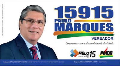 Eleições Porto Alegre 2016 Sebastiao Melo PMDB
