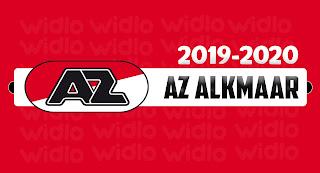 AZ Alkmaar 2019-2020 DLS/FTS Dream League Soccer Kits and Logo