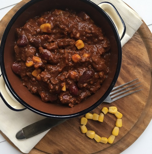 Coffee and Beer Chili ~ Chili con carne mit Kaffee und Bier