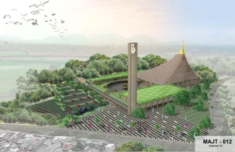 Arsitek Asal Bandung Menangi Sayembara Desain MAJT Magelang