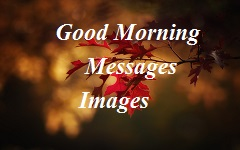 Good Morning Messages Images for whatsapp