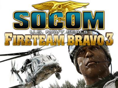 SOCOM: U.S. Navy SEALs Fireteam Bravo 3 PSP GAME ISO