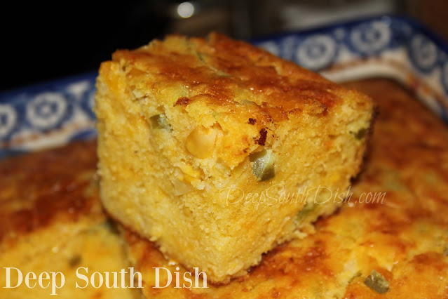 Chile Cheese Tex-Mex Cornbread