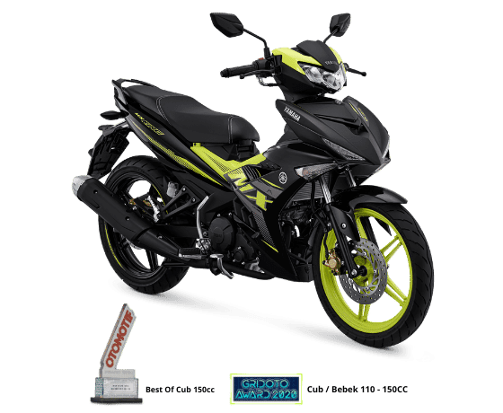 Yamaha Segarkan Tampilan MX King 150 Asimetris Desain
