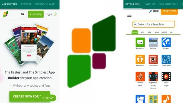 AppsGeyser من أفضل المواقع لإنشاء تطبيقك الخاص بسهولة والربح منه