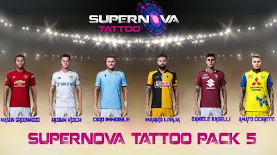 PES 2021 TattooPack 5 by Supernova