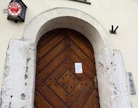 Mezuza en el barrio judío de Kazimierz, Cracovia