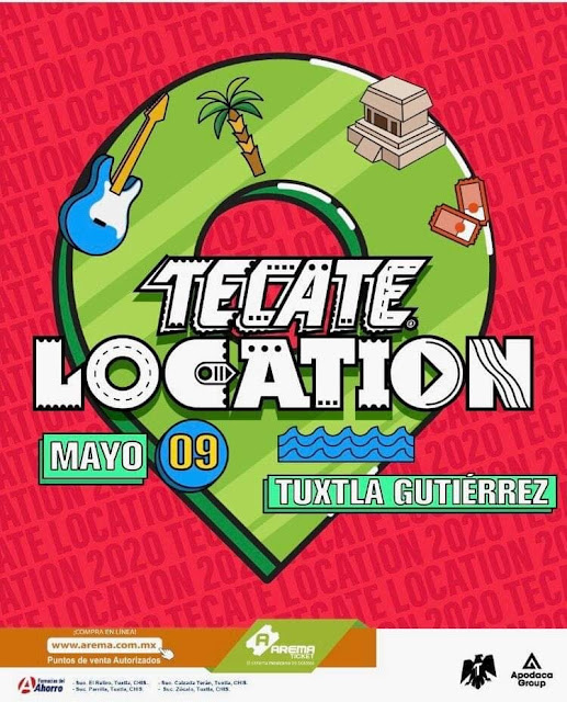 tecate location tuxtla 2020