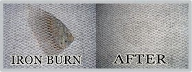 How Do You Fix An Iron Burn On The Carpet?
