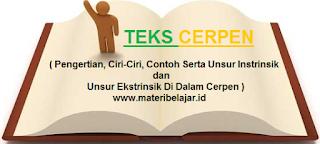 Teks Cerpen ( Pengertian, Ciri-Ciri, Contoh Serta Unsur Instrinsik dan Unsur Ekstrinsik Di Dalam Cerpen )