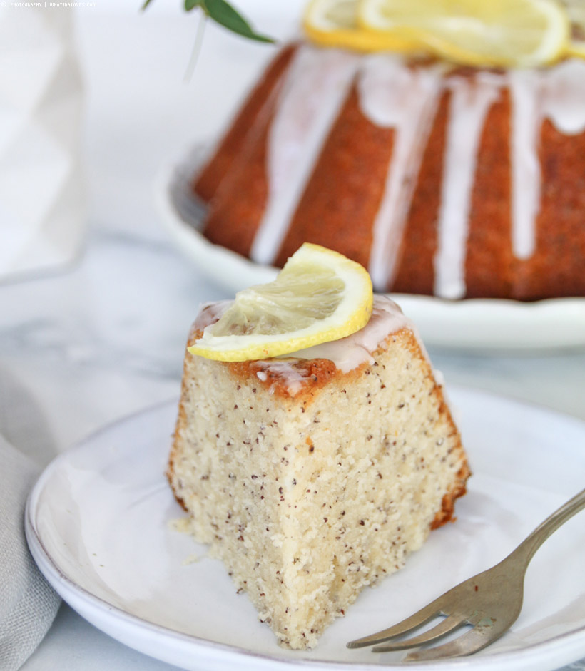 lemon poppey seed cake