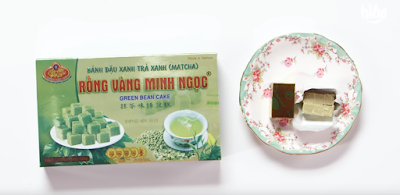 Vietnamese Daily Sanck-Matcha Castella