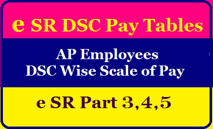 How to fill eSR DSC Pay Tables AP Employees DSC wise Scale of Pay for e SR Part 3, 4, 5 Updated/2020/08/ap-employees-esr-dsc-pay-tables.html