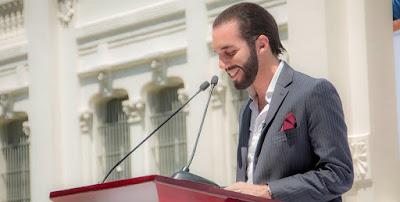 Nayib Armando Bukele Ortiz el presidente más joven en la historia de la República de El Salvador