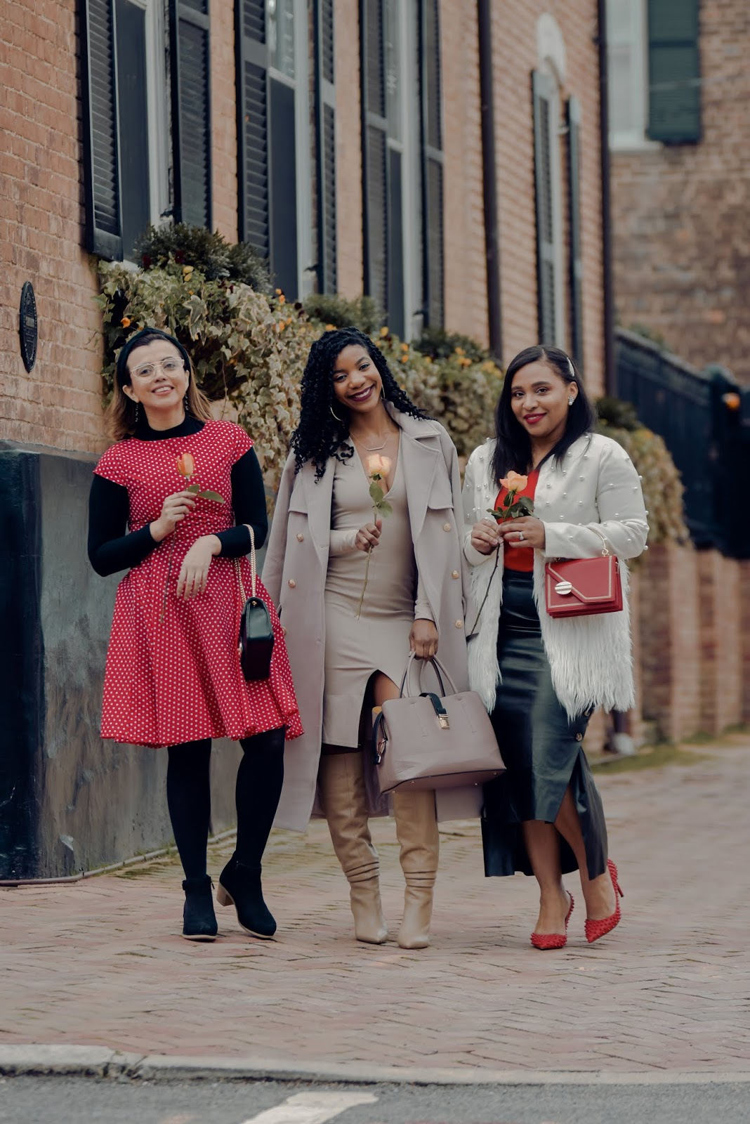 mari estilo, kasi perkins, galentines day, girls night out, gno, pattys kloset, ladies night outfit ideas