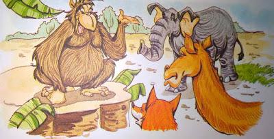 बंदर की आपत्ति Hindi Moral Stories For Class 8