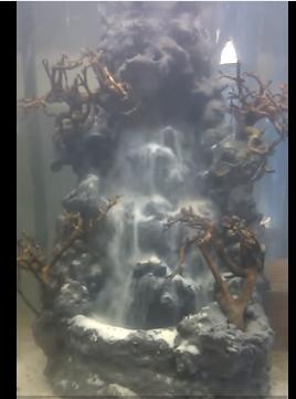thác cát - suối thác hồ thủy sinh cho khách Vũng Tàu 30122015