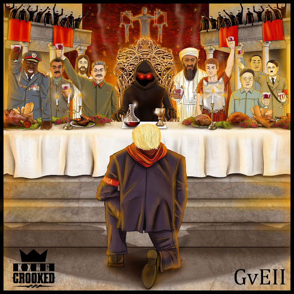 KXNG Crooked - Good vs. Evil II: The Red Empire Cover