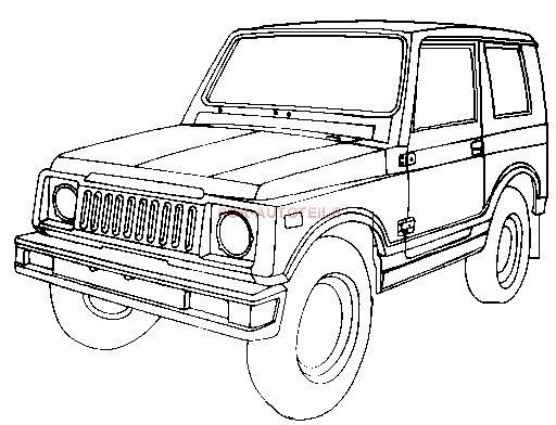 CIRCLE SITES: Blue Print Suzuki Jimny