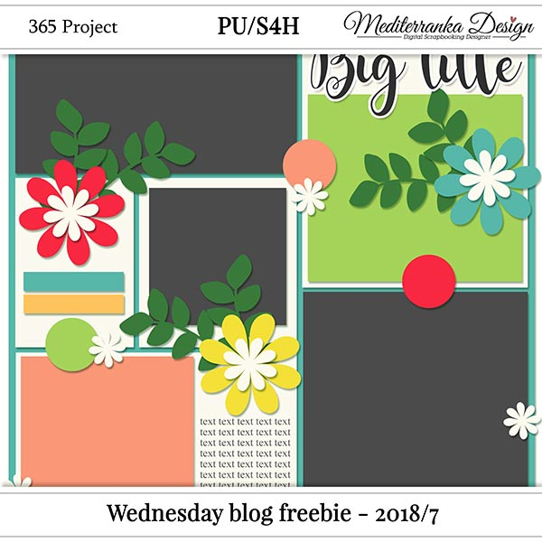 WINNER + WEDNESDAY BLOG FREEBIE - 2018/7