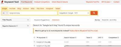 Keywordtool.io Best SEO Tools 2020