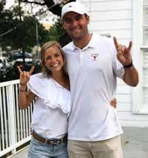Scottie Scheffler With His Wife Meredith Scudder