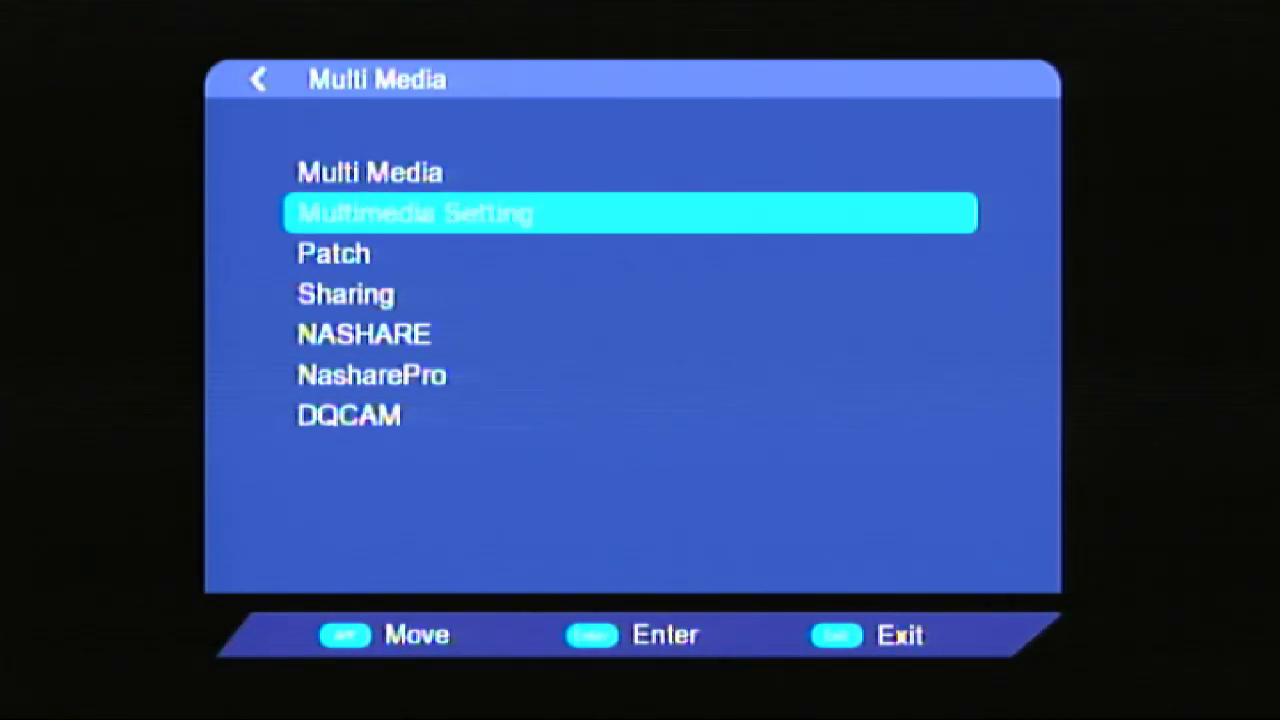 How To Enable Multimedia Option Wezone 8007 Set Top Box
