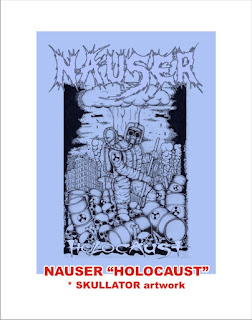 Nauser - Holocaust - Skullator Artwork