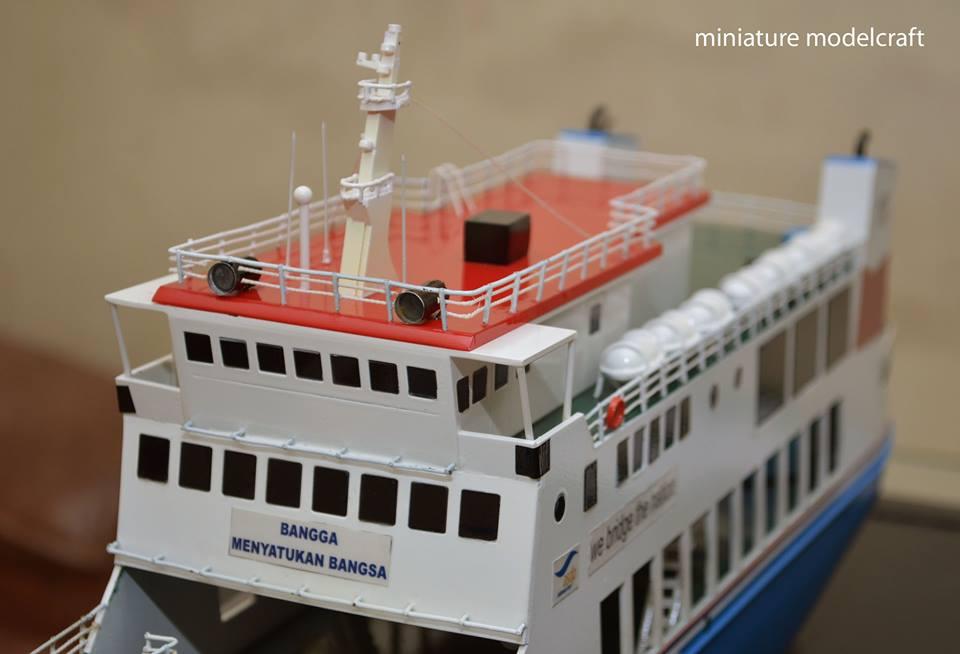 produsen miniatur kapal ferry kmp muria terpercaya
