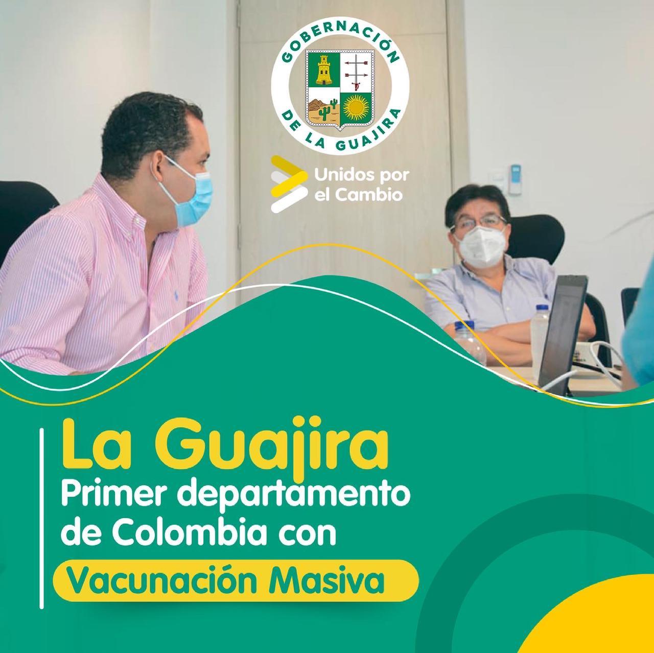 https://www.notasrosas.com/La Guajira, a la vanguardia de la vacunación masiva en Colombia