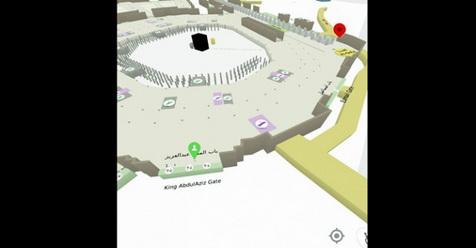 Jamaah Haji, Segera Instal Aplikasi Ini Agar Tak Tersesat Di Masjidil Haram