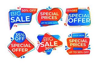 Banner Big Sale untuk Olshop
