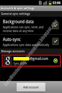 cara menghapus akun gmail di smartphone bekas