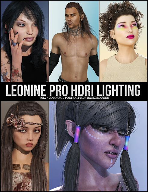 LY Leonine Pro HDR Lighting Vol.2