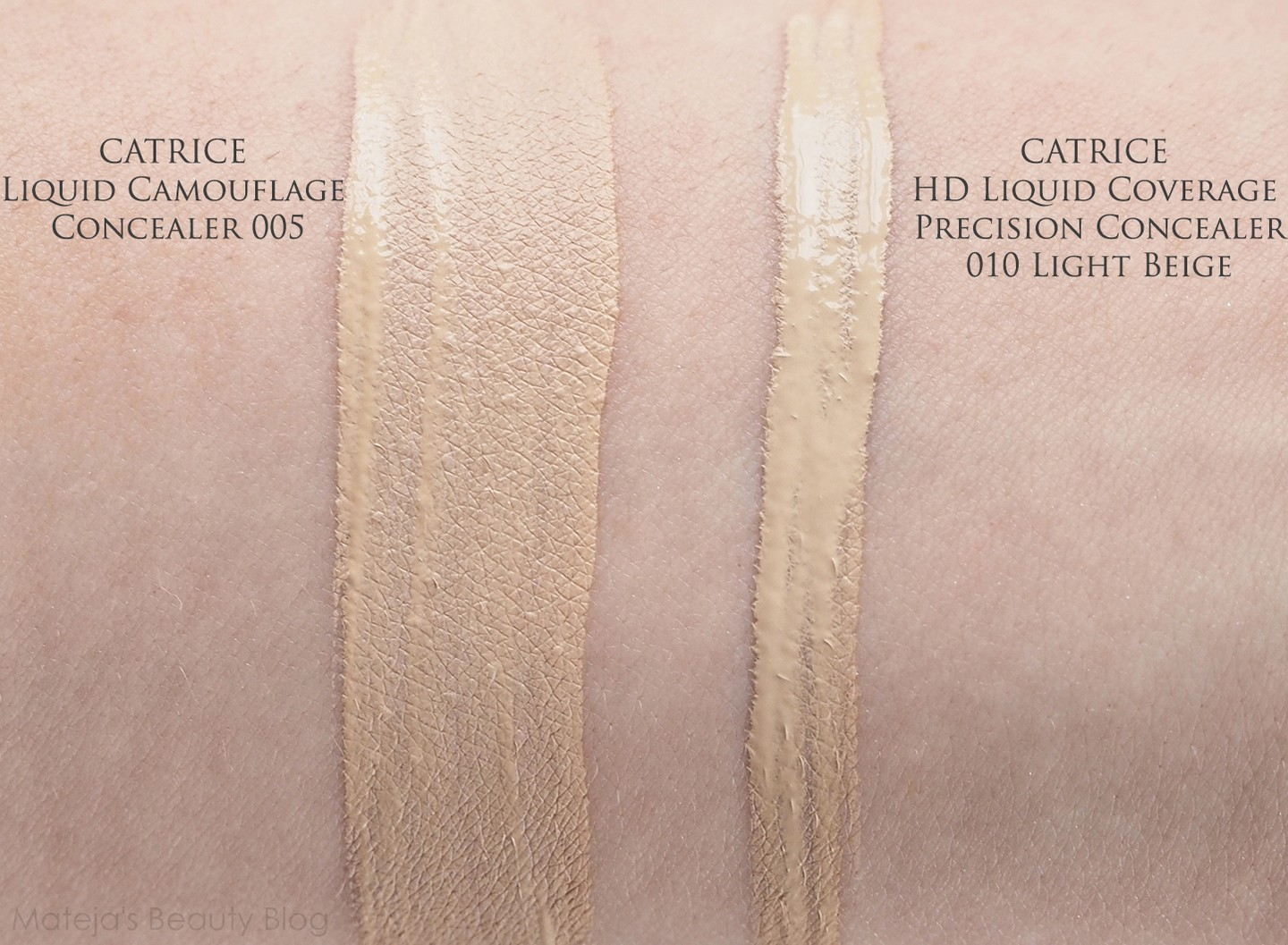 Catrice Hd Liquid Coverage Precision Concealer Matejas Beauty Blog Foundation Shade I Have The Lightest Called 010 Light Beige Which Is Similar To 005 In Camouflage But A Bit Lighter