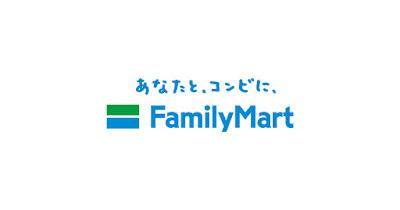 あなたと、コンビに、FamilyMartのロゴ