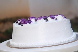 How To Make 1/2 kg Blue Berry Cake