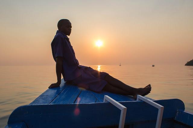 Pôr do Sol no Lago Malawi