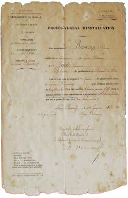Gendarmerie de Cour-Cheverny - 1892
