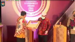 Kota Bengkulu Mendapat Penghargaan Kota Sangat Inovatif se-Indonesia