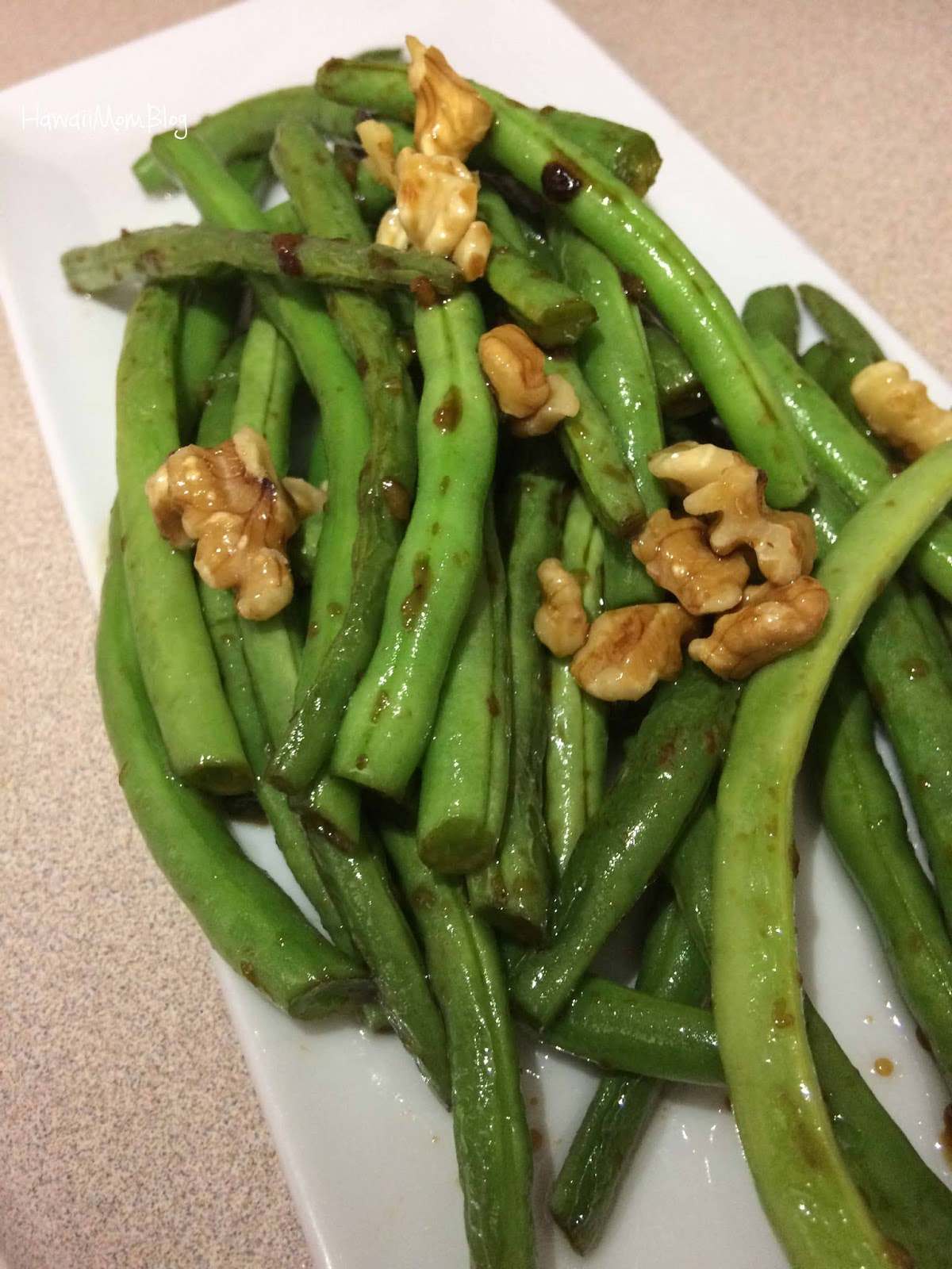 Mine the easy asian style green beans confirm. And