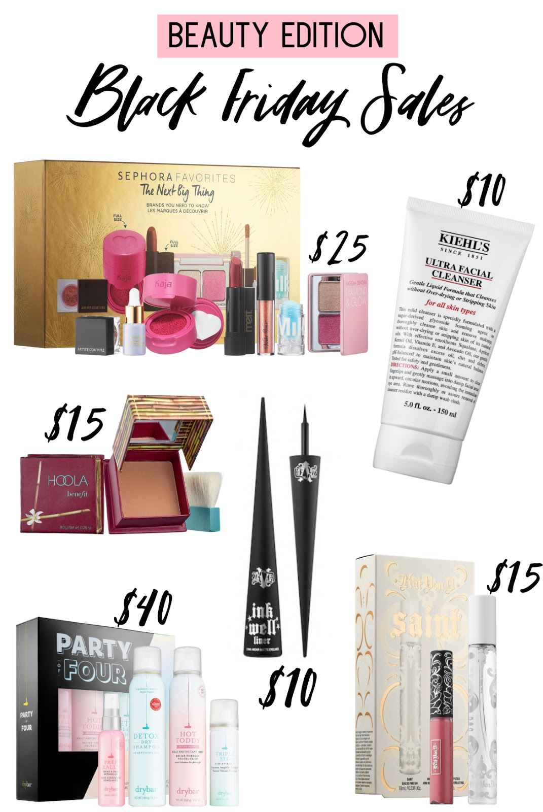 Black Friday Sales and Cyber Monday Deals 2019 | Affordable by Amanda Sephora Cyber Monday Beauty Deals and Sales up to 50% Off