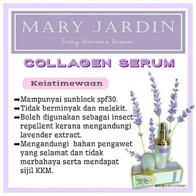 keistimewaan collagen serum mary jardin