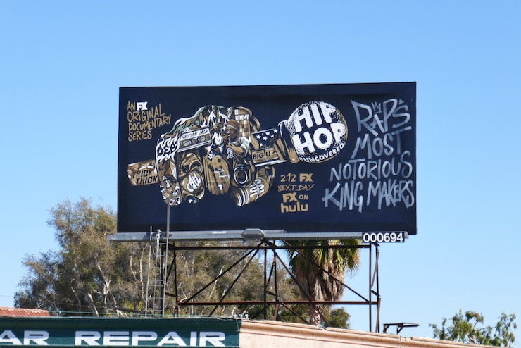 Hip Hop Uncovered docuseries billboard