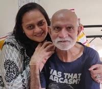 वंदना विठलानी अपने पिता के साथ | vandana vithalani with her father