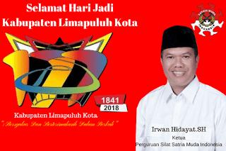 Selamat Hari Jadi Kabupaten Limapuluh Kota Ke-177