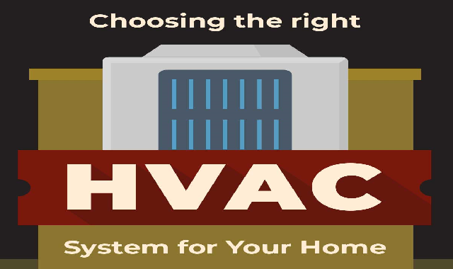 Choosing the Right HVAC System for Your Home #infographic