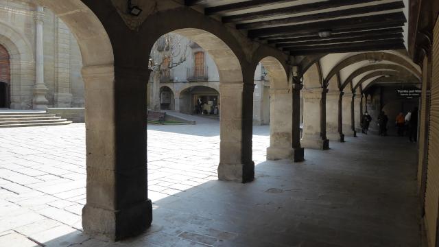 Plaça porxada de Guissona