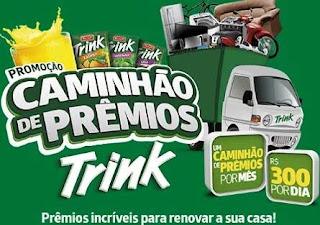 Cadastrar promoção Trink 2019 caminhão cheio prêmios e 300 reais todo dia
